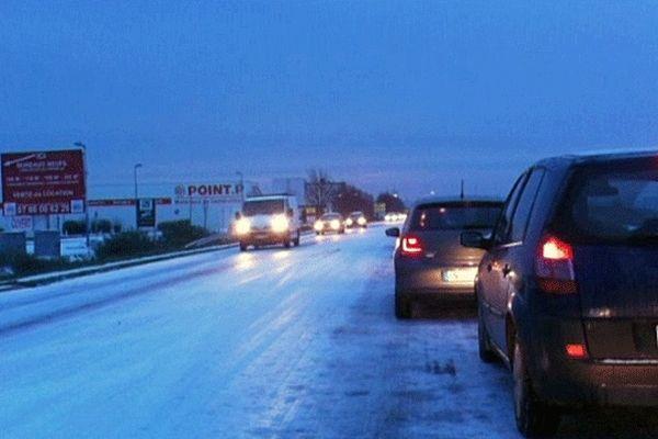 Le 13 décembre 2012, la neige, inattendue, a semé le désordre à Caen