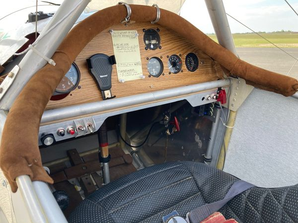 Aucune électronique à bord du Nieuport-17, une navigation à l'ancienne