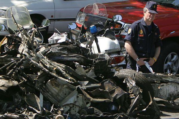 Le 25 mai 2005, une voiture piégée explosait à Madrid, faisant 45 blessés.