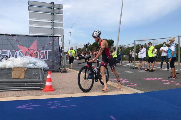 Le championnat de France de triathlon se déroule ce dimanche à Cagnes-sur-Mer