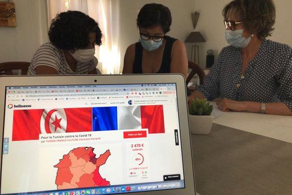 A Clermont-Ferrand, l'association Tunisie France Culture a lancé une cagnotte pour récolter des fonds pour le pays qui traverse une grave crise.