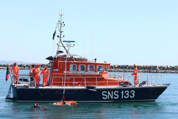 La vedette de sauvetage de la SNSM de Port-la-Nouvelle - archives