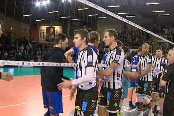 Poitiers s'impose face à Nantes-Rezé 3 sets à 2