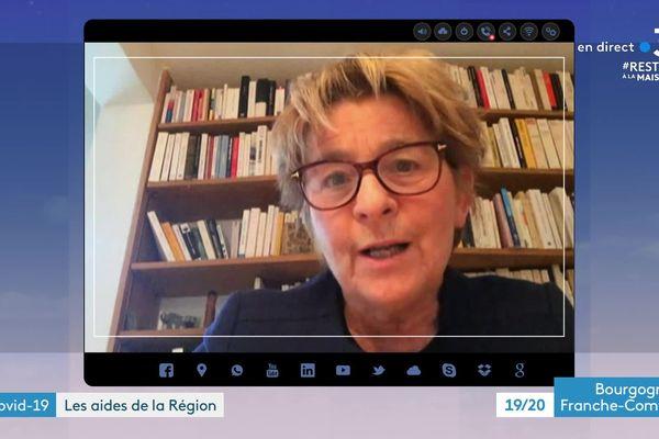 Marie-Guite DUfay le 29 mars 2020
