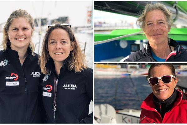 il y aura 10 femmes au départ de la 14e édition de la Transat Jacques Vabre 2019.