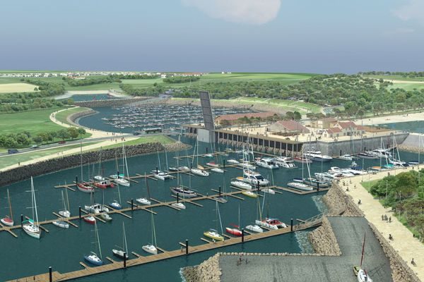Un moratoire pour le projet de port à Brétignoles-sur-Mer en Vendée