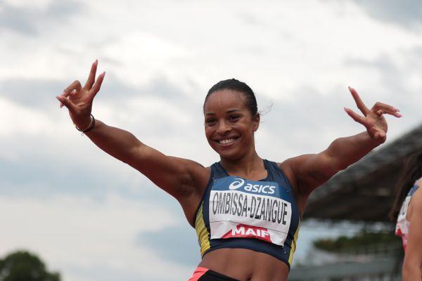 Qualifiée aux Jeux de Tokyo au relais 4x100 m où elle vise une médaille avec l'équipe de France, Orlann Ombissa-Dzangue est devenue championne de France du 100 m cette année.