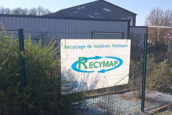 L'usine Recymap permettait de recycler localement le plastique dur