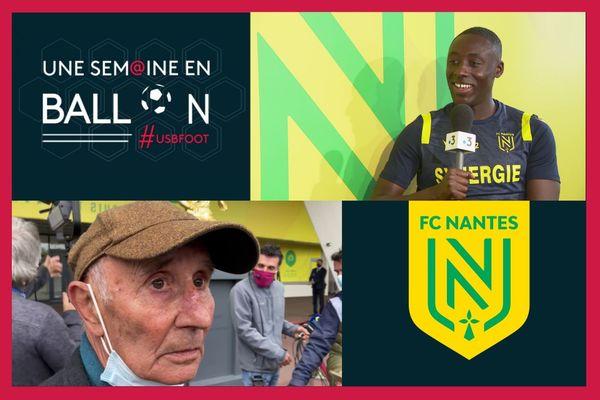 Dennis Appiah, l'arrière latéral droit au FC Nantes, est l'invité d'Anthony Brulez dans Une Semaine en Ballon
