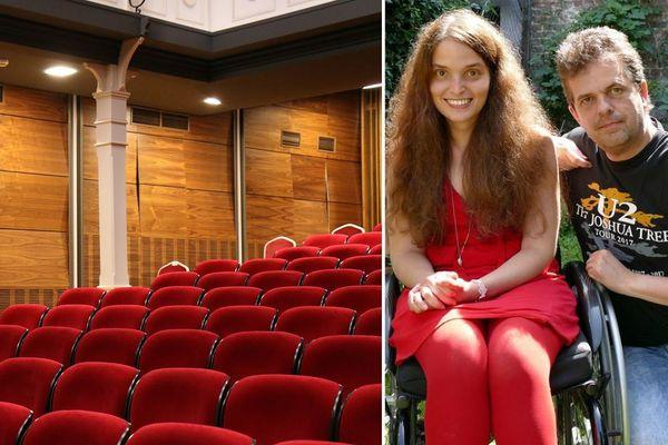 Emmanuel Delbergue et sa fille Fanny voulaient assister ensemble à un spectacle