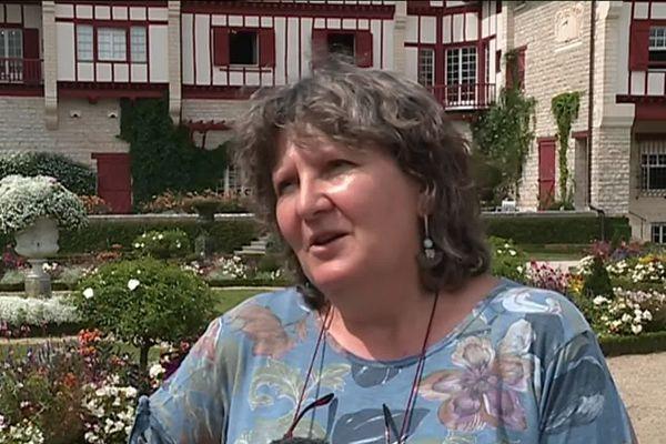 Béatrice Labat, conservatrice de la Villa Arnaga