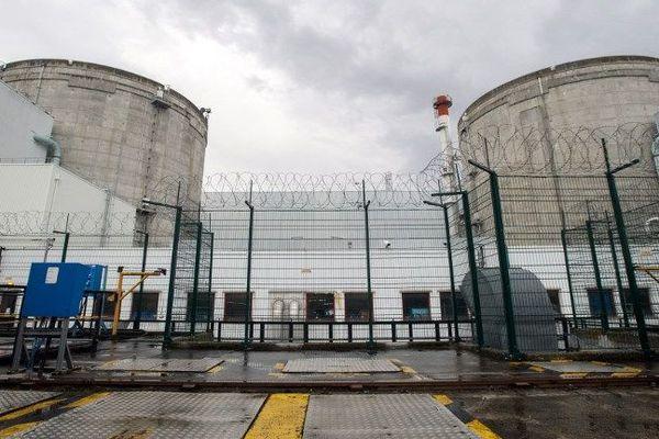 La centrale nucléaire de Fessenheim dans le Haut-Rhin