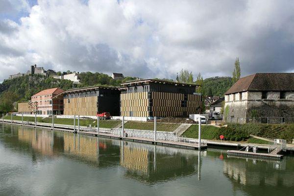 Frac Franche-Comté, Cité des arts, Besançon.
