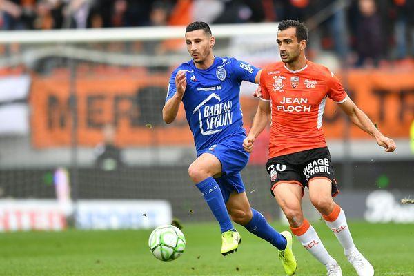 Yoann Touzhgar et ses coéquipiers ont ramené trois points de leur déplace à Lorient ce samedi 26 octobre.