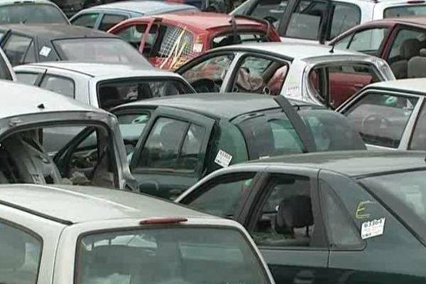 4000 voitures sont recyclées ici chaque année.