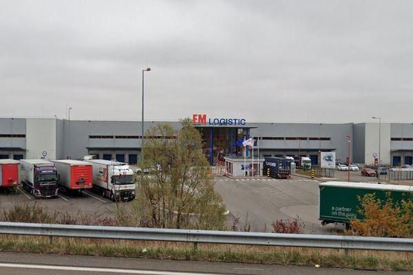 A Fauverney, l'entreprise FM Logistic travaille essentiellement pour le groupe américain Unilever