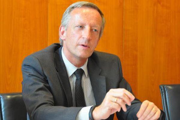 Olivier Richefou président du département de la Mayenne