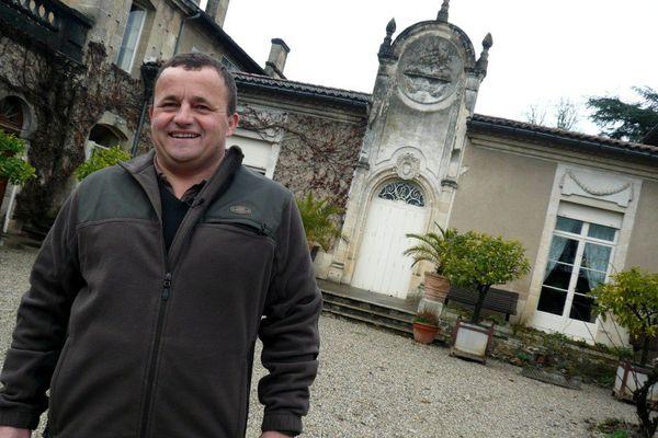 Marc Médeville, du château Fayau à Cadillac
