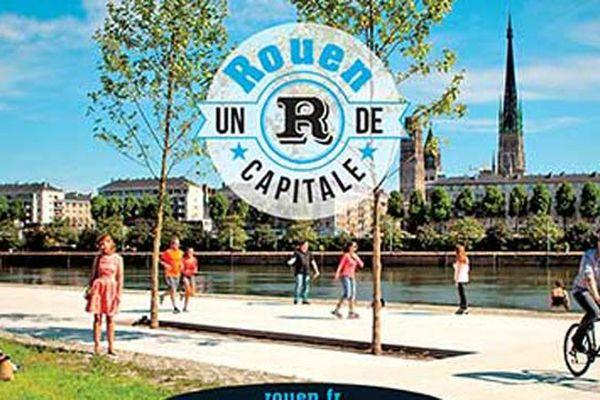 """Pour ses voeux 2015, la municipalité de Rouen vante une ville qui a un """"R de capitale"""""""