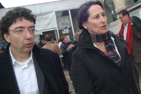 Tension entre Michel Gourinchas (à g) et Ségolène Royal qui veut dissoudre le Comité Régional du Tourisme de Poitou-Charentes