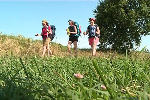 Chaque année, 12000 marcheurs traversent le Tarn-et-Garonne.