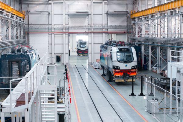 Une locomotive d'Alstom pour le Kazakhstan.