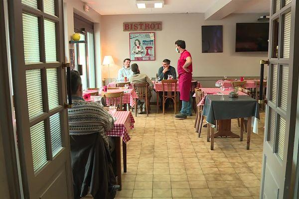 Un des restaurants signataires de la convention et qui peut accueillir depuis le 26 janvier les ouvriers des chantiers voisins