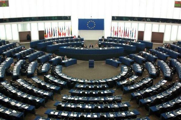 Le parlement européen de Strasbourg