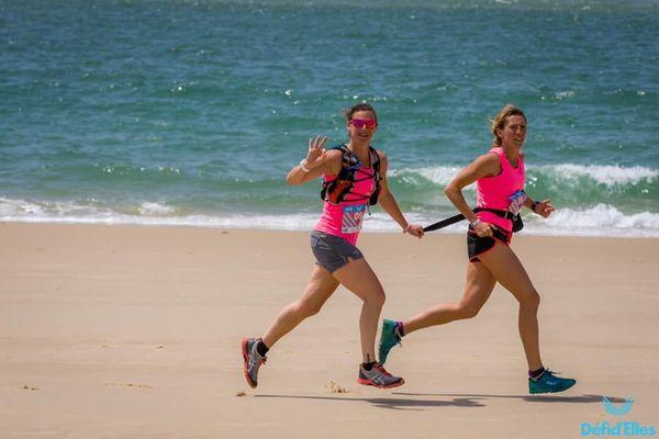Défi d'Elles Arcachon 2020 : duo de coureuses