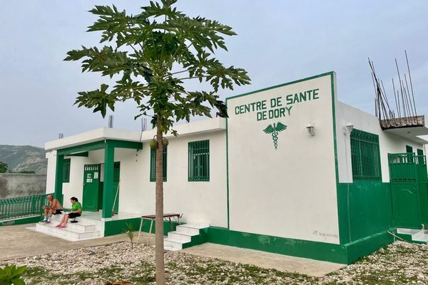 Les bénévoles d'AIPP sont notamment présents au centre de soins de Dory.