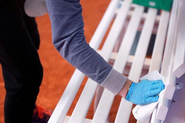 Le tennis pourra reprendre mais avec des conditions sanitaires strictes