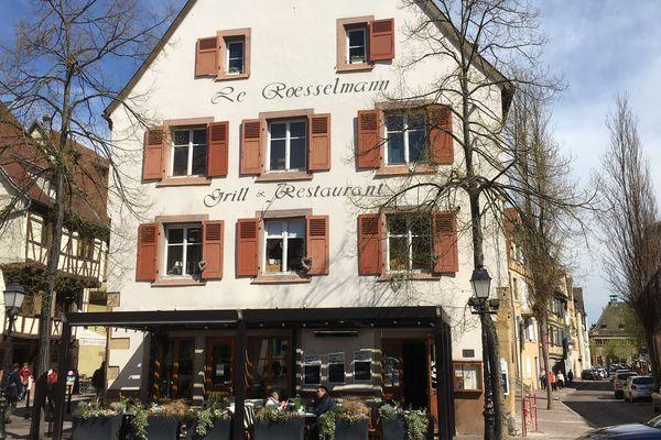 Le Bistrot des lavandières à Colmar, situé dans la Petite Venise.