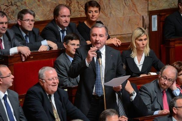 Jean-Luc Moudenc à l'Assemblée Nationale