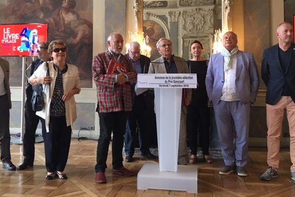 L'annonce des auteurs présélectionnés pour le prix Goncourt
