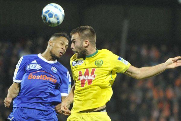 16ème de finale de la Coupe de la Ligue, Bourg-en-Bresse bat le FC Nantes 3-1