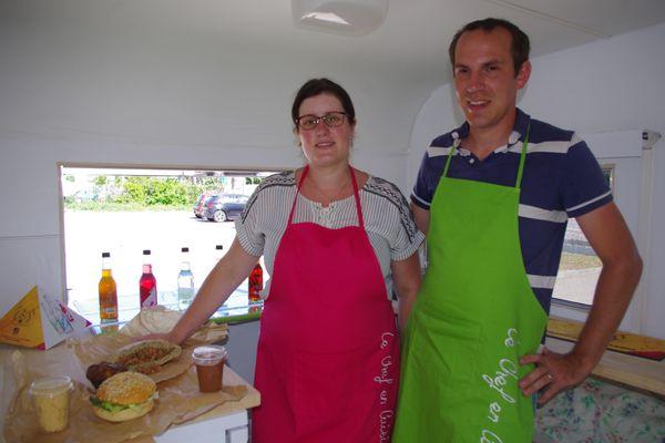 Valentin et Angélique Baudras cherchaient à créer une entreprise. Ils se sont tournés vers la restauration.