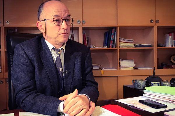 Jean François Monteils, président de la Chambre Régionale des Comptes de la Nouvelle Aquitaine