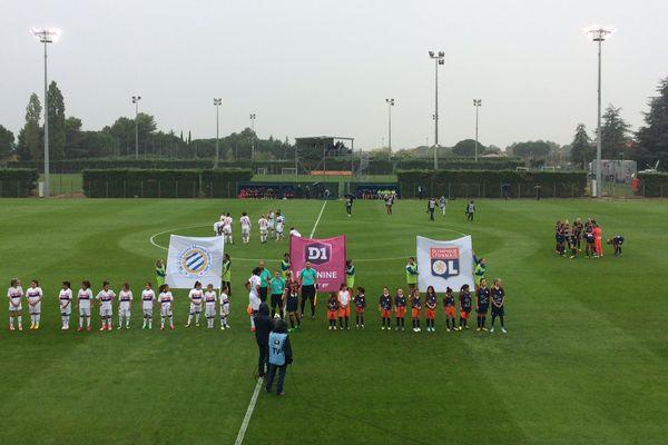 Montpellier - les filles de Lyon surclassent 5 à 0 celles du MHSC - 30 septembre 2017.