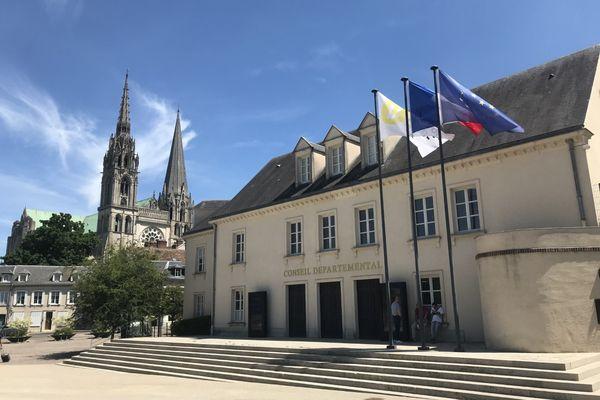 Le Conseil départemental d'Eure-et-Loir.