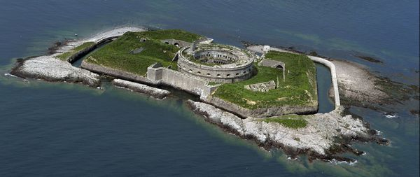 L'île du grand large de l'archipel des Saint Marcouf (Manche)