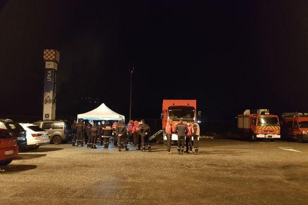 Une cellule de crise a été ouverte sur le site du SAF, à Tournon (Savoie)