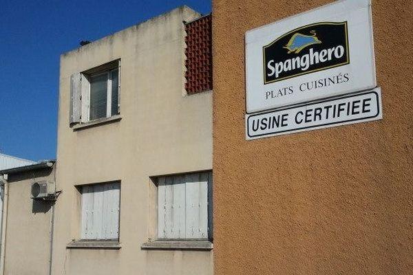 L'usine Spanghero à Castelnaudary le 19 février 2013