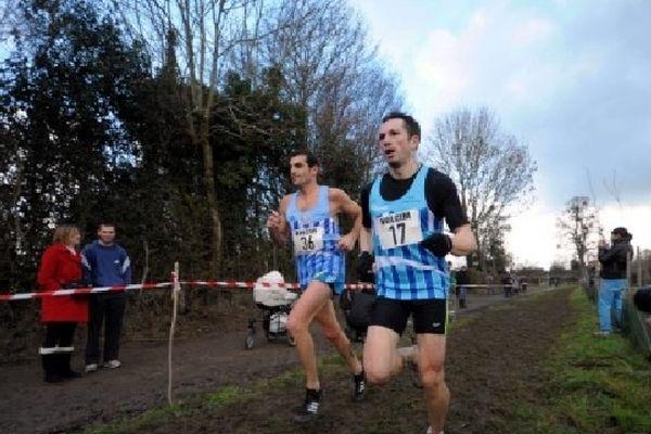 Les 2 favoris de l'épreuve Elite: Yoaan Violon et Thierry Guibault