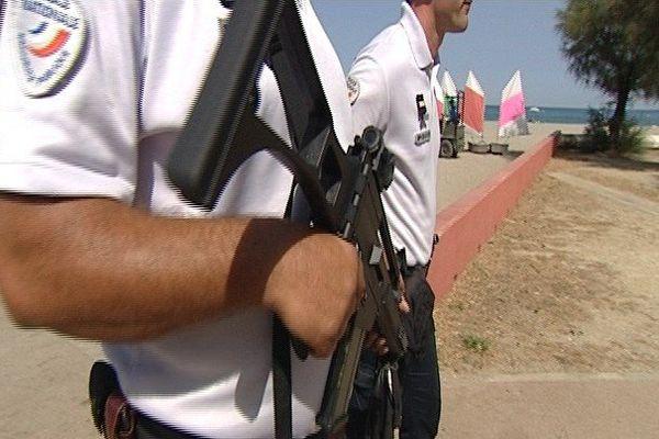 Les patrouilles de police et de gendarmerie ont été multipliées sur les plages.