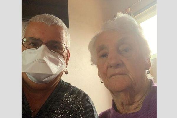 Antonia a retrouvé sa maman, après de longues semaines d'attente.