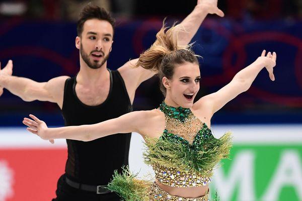 Gabriella Papadakis et Guillaume Cizeron remportent leur troisième titre mondial.