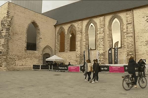 Le Festival Politikos au Couvent des Jacobins à Rennes jusqu'à dimanche
