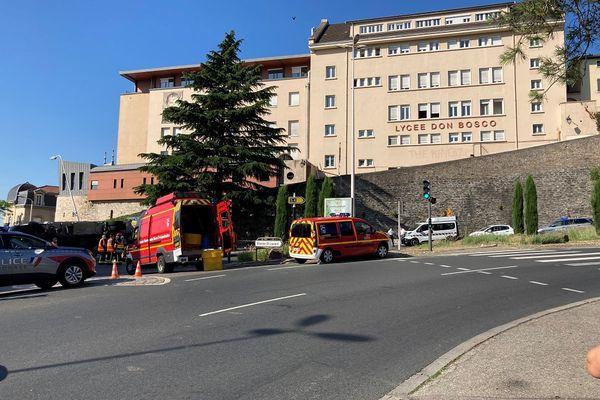 Lyon : accident mortel sur la Montée de Choulans, un piéton tué par un camion devant le lycée Don Bosco - 16/6/21