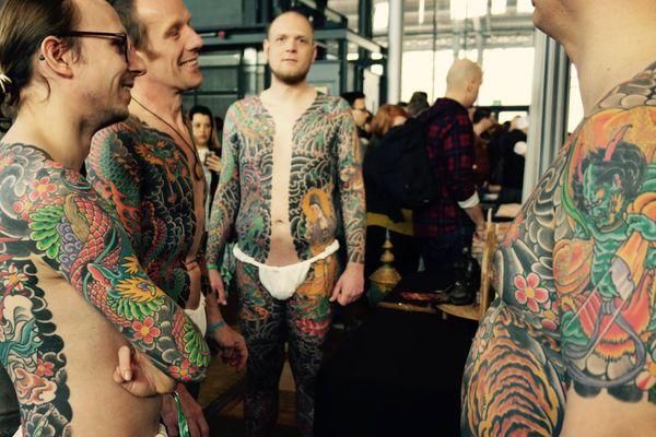 Le Mondial du tatouage 2016.