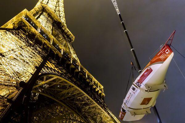 Initiatives Coeur se retrouve perché au premier étage de la Tour Eiffel